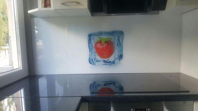 Panele szklane,szklo do kuchni z grafika,szklarz kutno