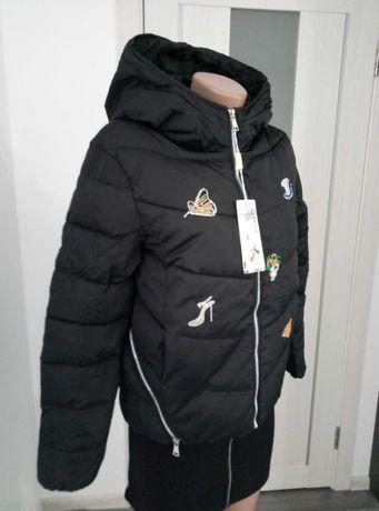 Женская куртка демисезонная на утеплителе. Размер 46 -48.
