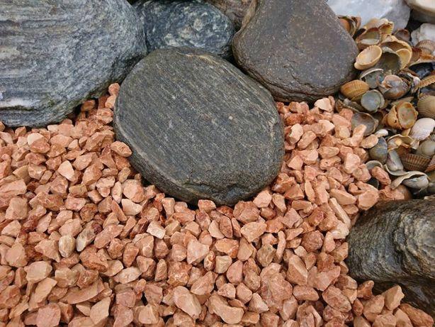 Grys ogrodowy w kolorze miedzianym 12-16mm
