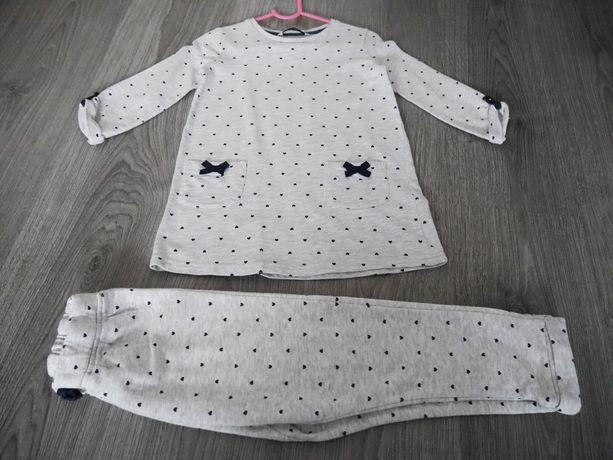 tunika i spodnie 98/104 george baby