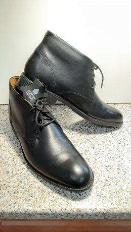Чоловічі шкіряні черевики Clarks 42 розмір