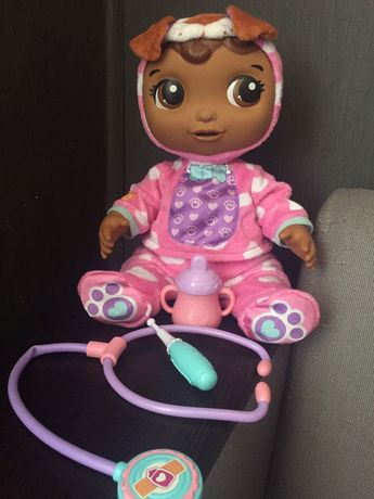 Интерактивная кукла пупс доктор плюшева