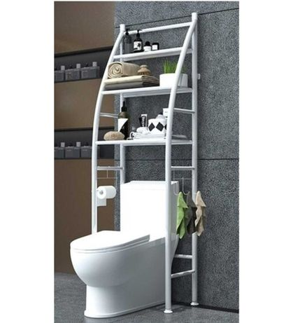Полка -стеллаж над унитазом в туалет. Sailboat Toilet Rack TM-020