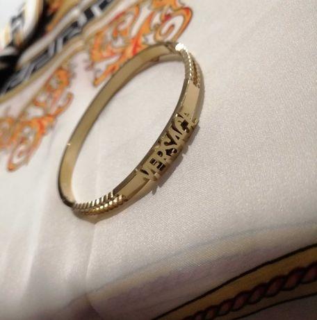Versace bransoletka gold kolor złoty