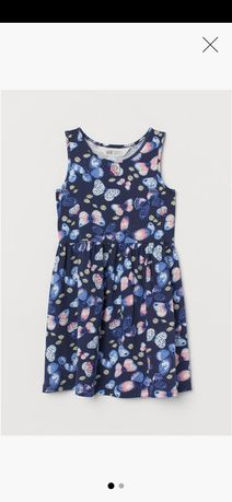 Nowa, prześliczna sukienka H&M rozmiar 92 cm