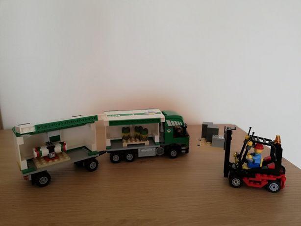 Lego City 7733 ciężarówka cargo