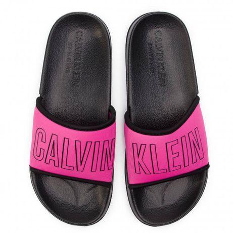 Klapki Calvin Klein Nowe Oryginalne. Różne rozmiary. Wystawiamy FV