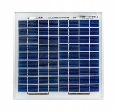 Panele fotowoltaiczne solarne bateria słoneczna 5W 12V solar (SOL6)