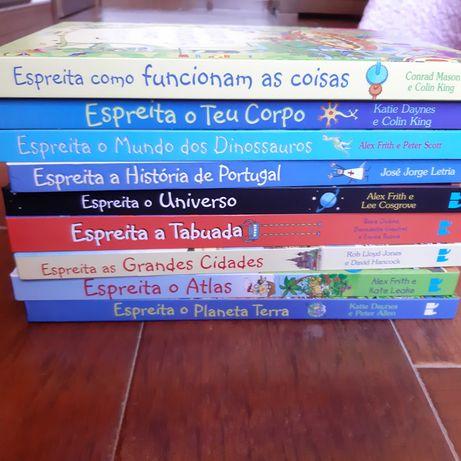 Livros Coleção Espreita