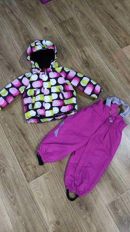 Термо комплект(куртка+полукомбинезон) reima tec, поддева рейма