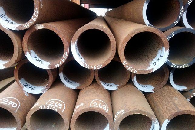 Rura stalowa b/sz 139x14 5zł/kg grubościenna