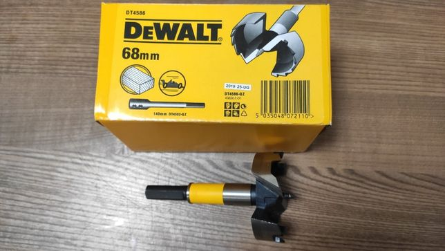 Сверло Форстнера по дереву 68 мм DeWALT DT4586