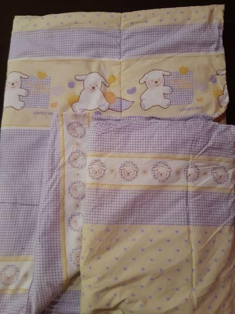 Amy Poduszka kołdra zestaw komplet wypełnienie pościeli niemowlęcy 1