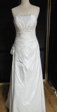 NOWA Klasyczna suknia ślubna r. 38 elegancka