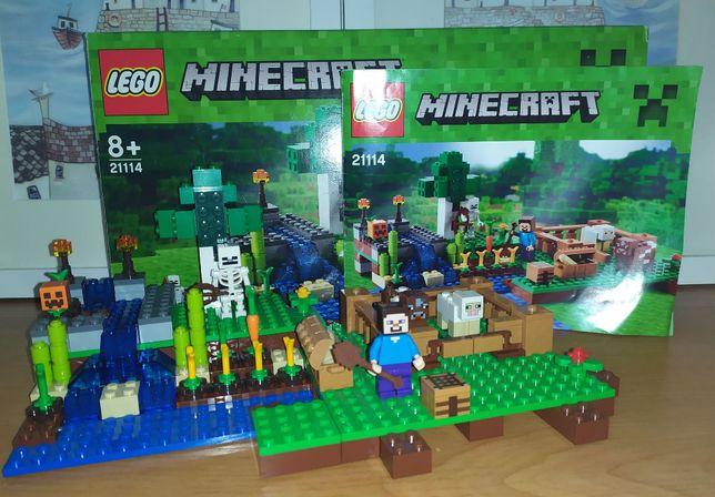 Zestaw Lego Minecraft 21114