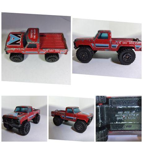 matchbox mini pickup 1981