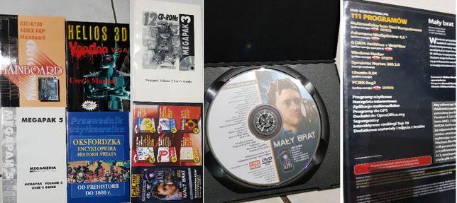 Mainboard, Megapak, Przewodnik gracza, Helios 3D, instrukcja, film