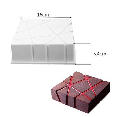 Forma silicone bolo