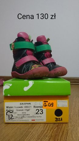 Sprzedam buciki dla dziewczynki rozmiar 23