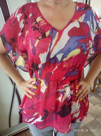 Летняя кофта блузка размер 46