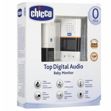 Intercomunicador Chicco Baby Áudio Digital Top
