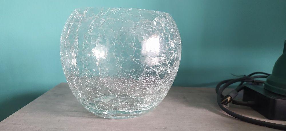 Osłonka szklana storczyk bezbarwna kula 13cm Piekoszów - image 1