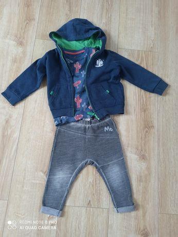 Zestaw Zara rozm. 92/98/104 leginsy spodnie+ bluza zestaw