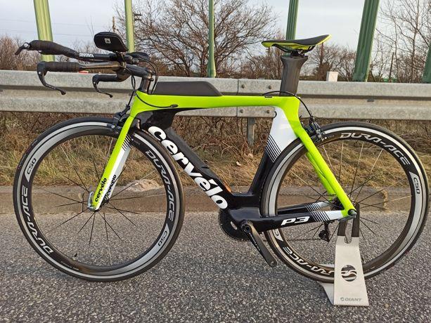 Nowy rower czasowy triathlon Cervelo P3 2019 Karbon Ultegra Dura Ace