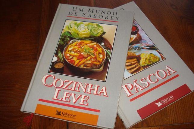 livros culinária um mundo de sabores