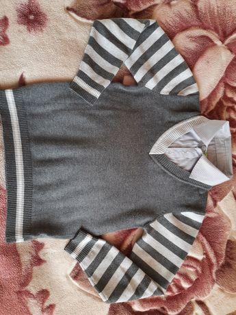 Світер светр кофта обманка для хлопчика