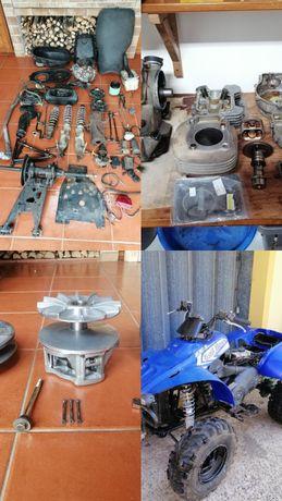Todas as peças POLARIS TRAILBOSS 330cc 2004