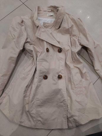 Elegancki płaszczyk dla dziewczynki 6-7 lat