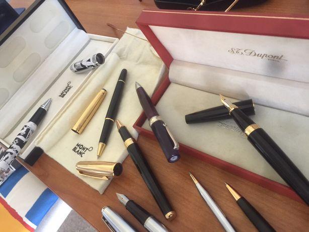 Перьевые и шариковые ручки Mont Blanc,S.T.Dupon,ручка SHEAFFER