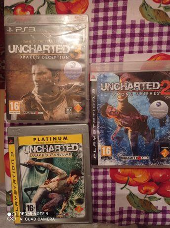 Uncharted trylogia PS3