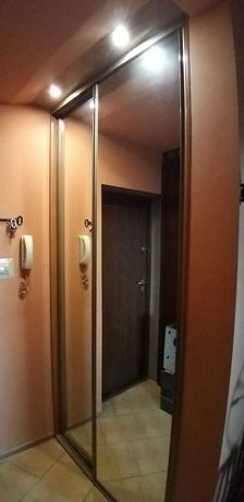 drzwi do szafy z lustra