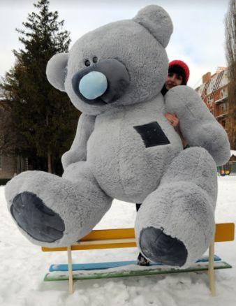 Огромный мишка 250 см, плюшевый медведь, мягкая игрушка, подарок