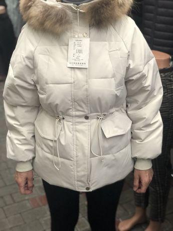 Зимовий жіночий пуховик. Зимова куртка