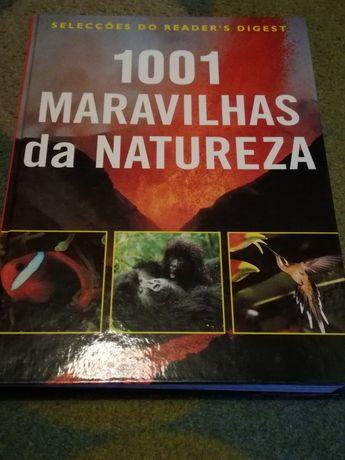 Livro '1001 maravilhas da natureza'