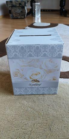 Pudło na koperty weselne