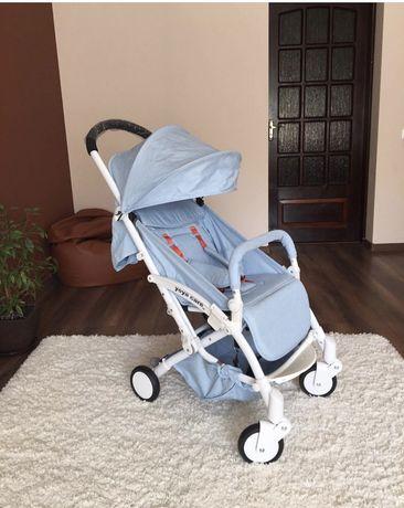 Фінальний розпродаж! Прогулянкова коляска Wider Blue, вага 6 кг