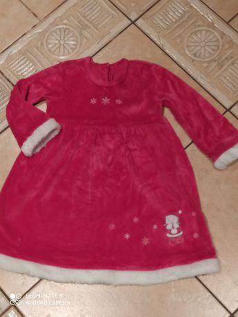 Sukienka Mikołaj 1,5-2 lata