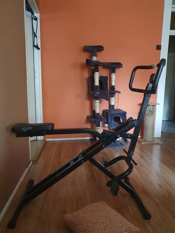 Rower Total Body Crunch Plus