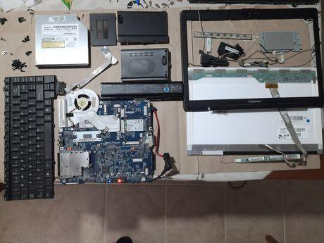 Portátil Toshiba Satellite A200-2C5 para PEÇAS