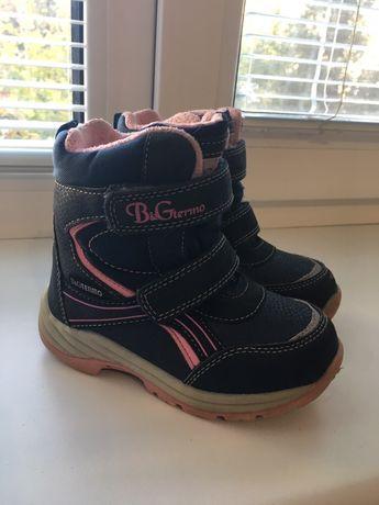 Зимние термо ботинки B&G р.26