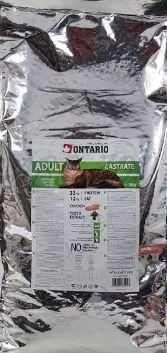 ONTARIO Adult - bezzbożowa karma dla kotów kastrowanych