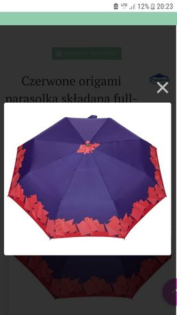 Parasol Carbon Steel Origami nowy