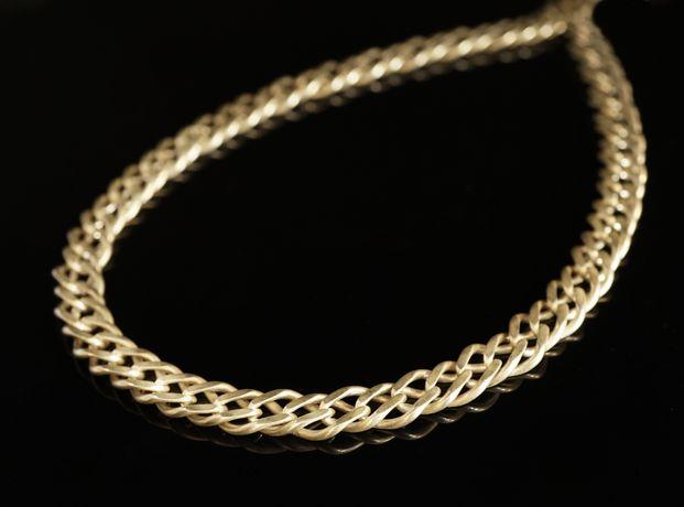 Srebro 925 - srebrny łańcuch splot Galibardi.