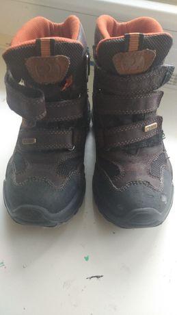 Ботинки для мальчика (кожа)
