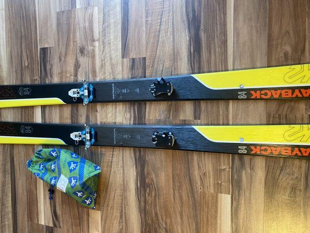 Narty skiturowe k2 wayback  84 174 cm plus foki