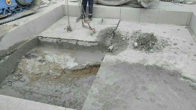 Демонтаж.Резка бетона. Алмазное бурение отверстий. Штроба. Пройом.